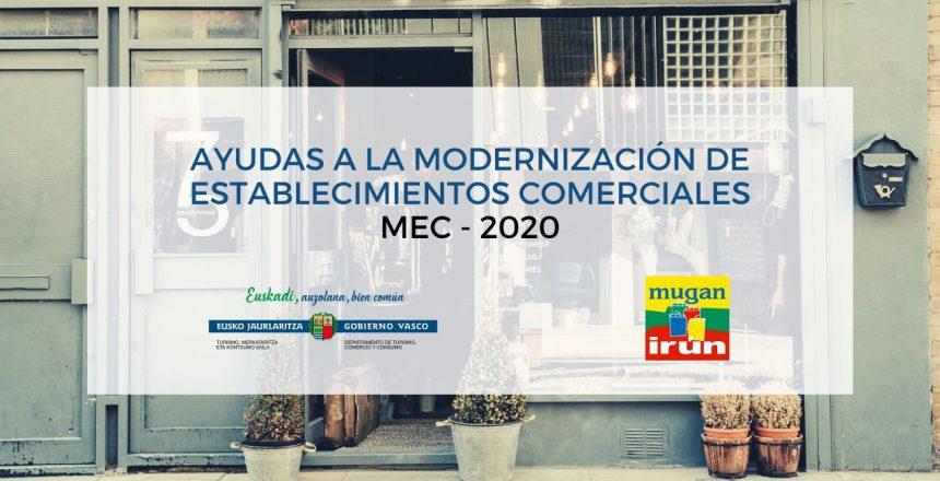 AYUDAS A LA MODERNIZACIÓN DE ESTABLECIMIENTOS COMERCIALES mec - 2020